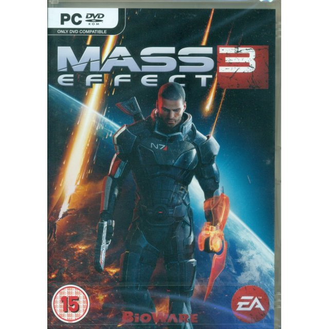 XBOX 360 Mass Effect 3 Game Go weapons-hot in a fully immersive sci-fi epic
