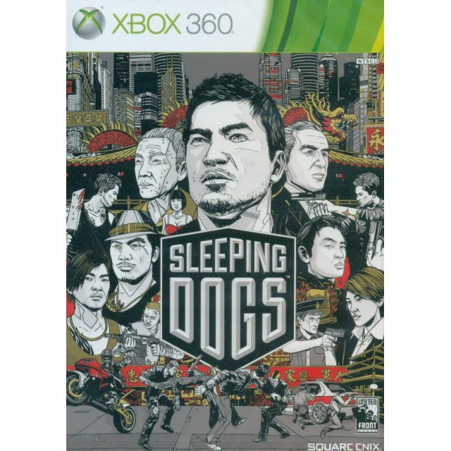 Игра для XBOX 360 Sleeping Dogs. Standard Edition Xbox 360 русская версия