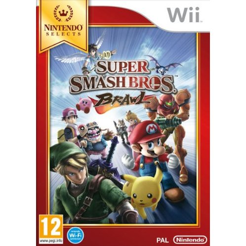 super smash bros brawl nintendo selects 333439.8 Super Smash Bros. Brawl (Nintendo Selects)